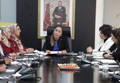 المكتب التنفيذي لمنظمة النساء الحركيات يعقد اجتماعه الأول بالرباط
