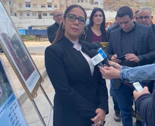 الأخت بوشارب تطلع بالحسيمة على تقدم أشغال إنجاز عدد من المشاريع السكنية